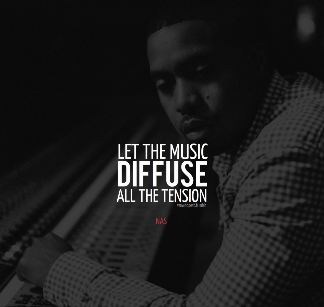 Nas Quote About Life - HD Wallpaper