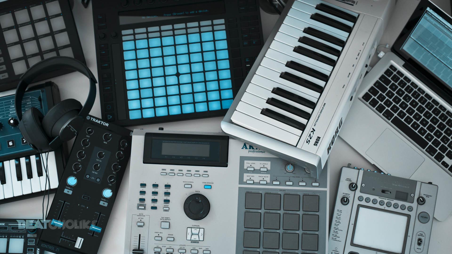 1920x1080, 3 Music Production Tips For Beginners   - Hd Wallpaper Music Studio - HD Wallpaper