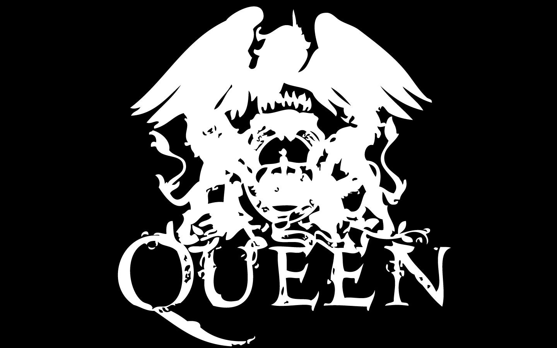 Queen Logo Black Background 1440x900 Wallpaper Teahub Io