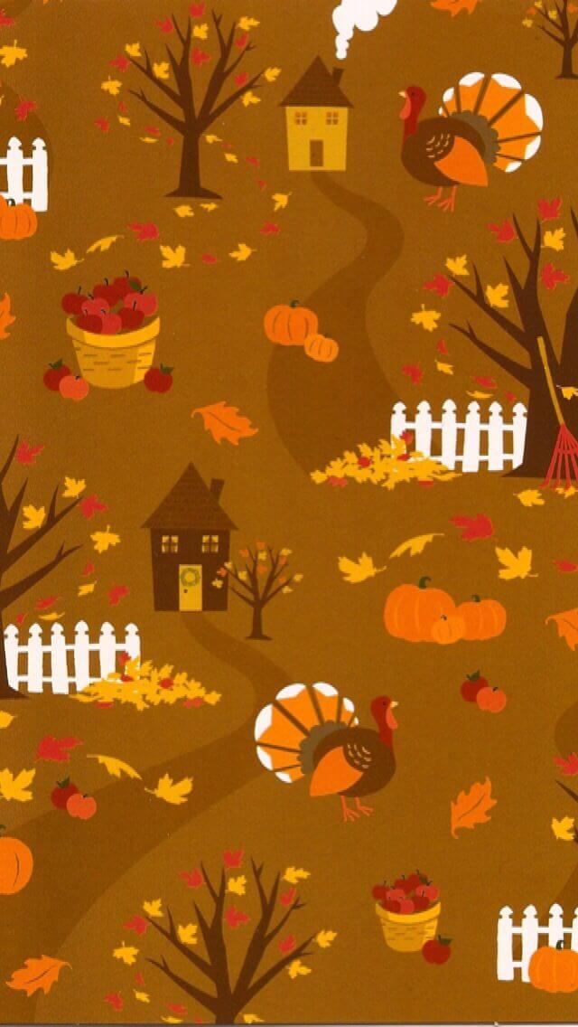 Thanksgiving Backgrounds For Iphone - Iphone Disney Thanksgiving Backgrounds - HD Wallpaper
