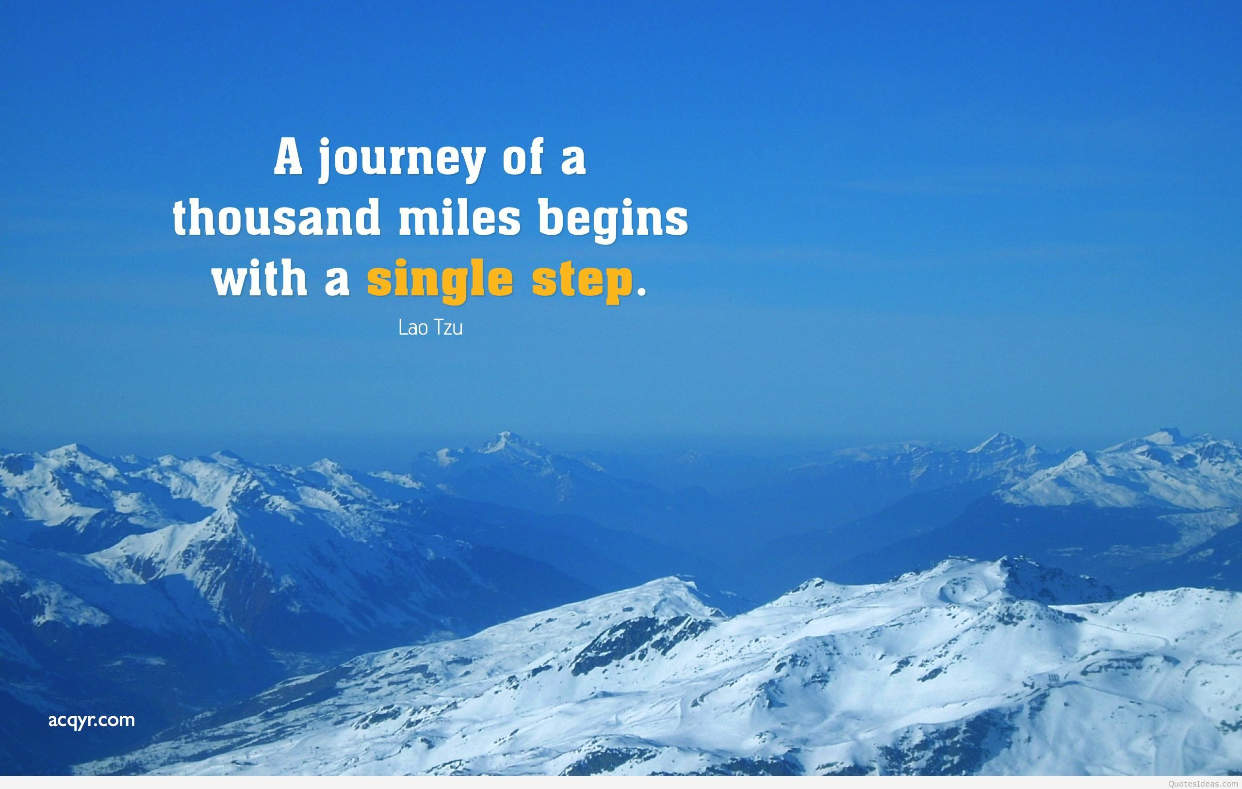 66 Entries In Desktop Wallpapers With Motivational - Quotes On Snowy Mountains - HD Wallpaper