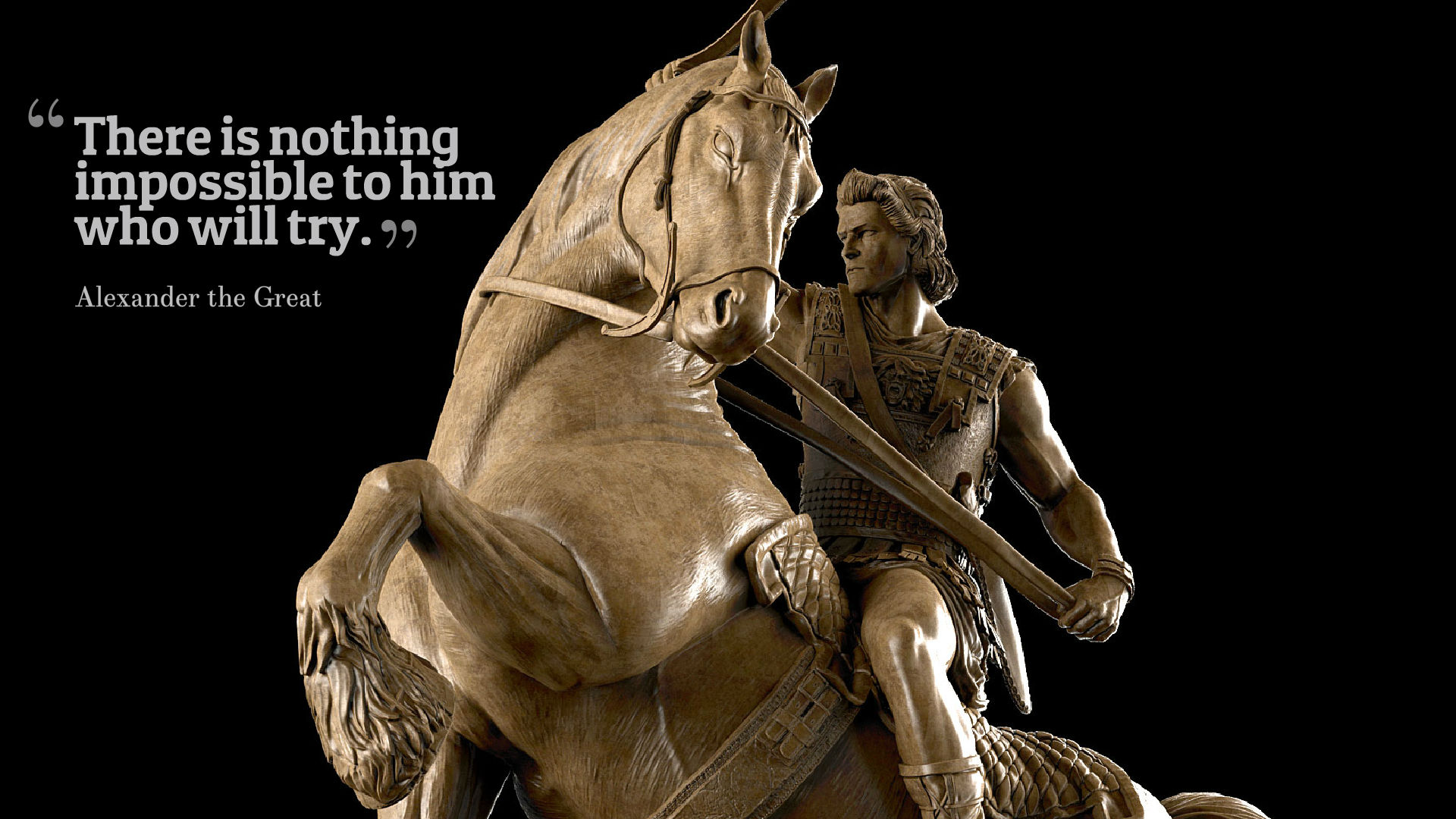 Alexander The Great Quotes Hd Wallpapers - Alexander The Great Arh Statues - HD Wallpaper