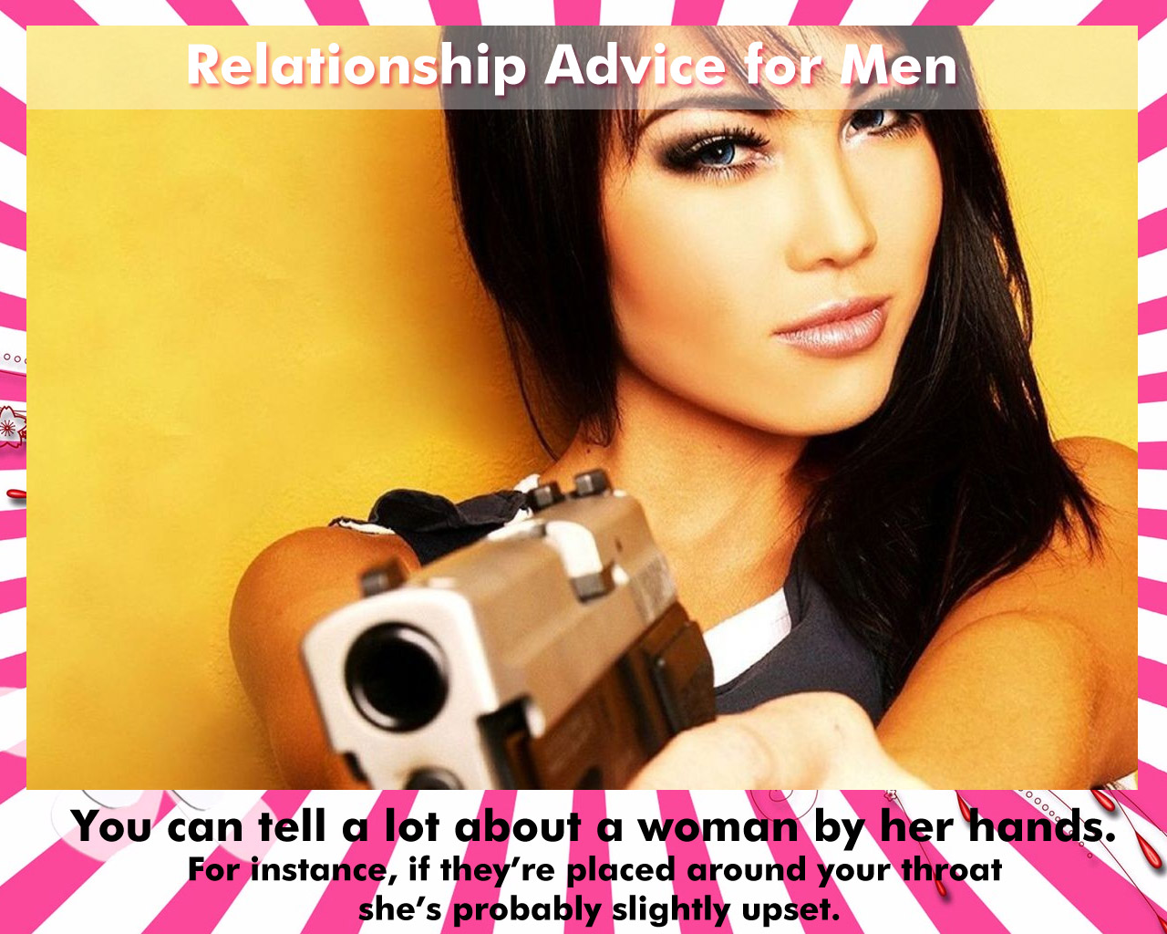 You Can Tell A Lot About A Woman By Her Hands - Badass Girl Wallpaper Quotes - HD Wallpaper