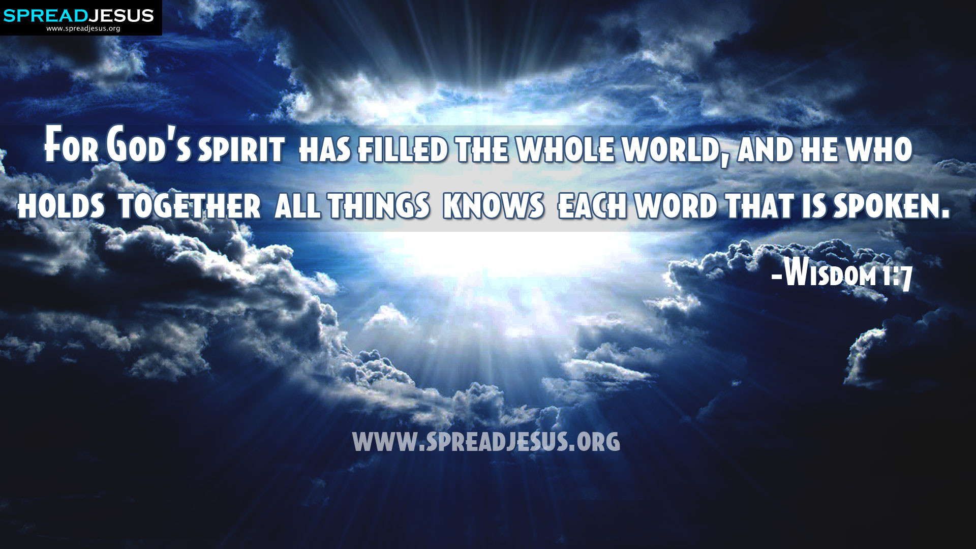 1920x1080, Christian Hd Wallpapers Holy Bible Quotes - Quotes About Wisdom Of Holy Spirit - HD Wallpaper