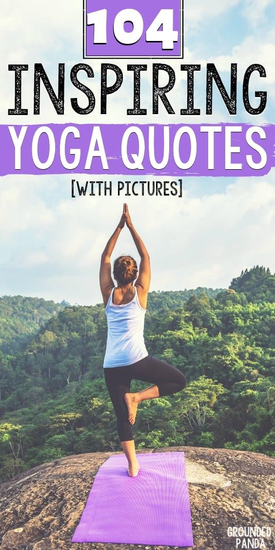 104 Yoga Quotes - Inspiration Motivation Yoga Quotes - HD Wallpaper