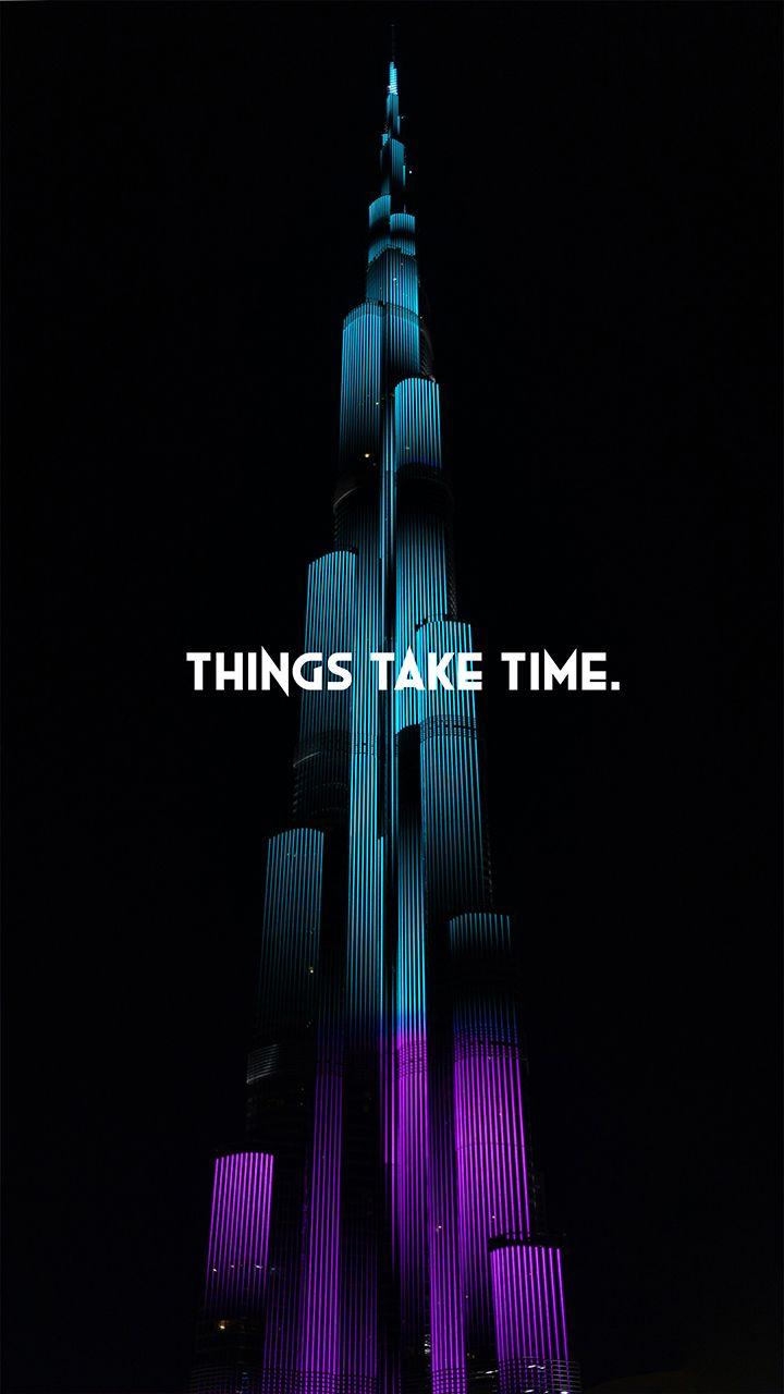 Motivational Quotes Wallpaper Hd, Beautiful Quotes - Burj Khalifa Wallpaper Download - HD Wallpaper