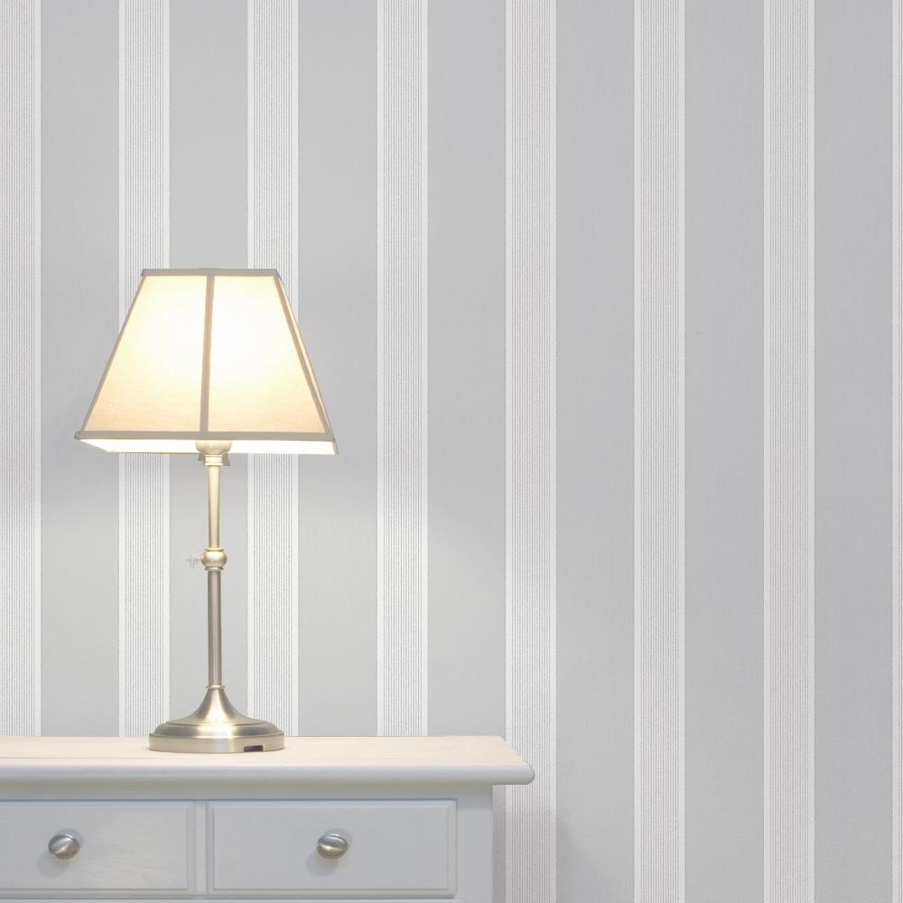 Grey Striped - HD Wallpaper