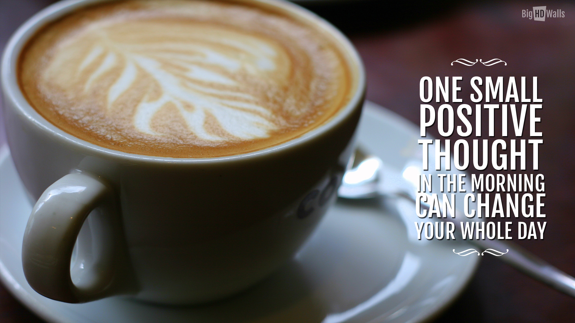 Image From Bighdwalls One Cup Of Coffee Quotes 1920x1080 Wallpaper Teahub Io