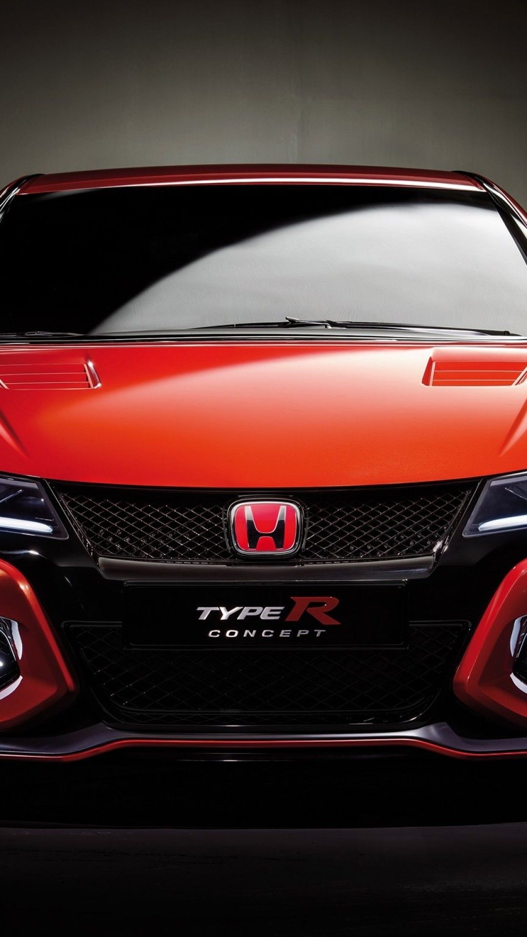 Honda Civic Type R Red Cars Front View Iphone Wallpaper Honda Civic Type R 1080x1920 Wallpaper Teahub Io