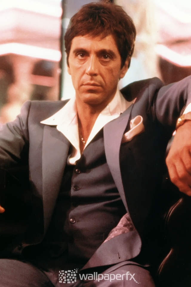 Al Pacino Scarface For 640 X 960 Iphone 4 Resolution - Al Pacino Godfather Vs Scarface - HD Wallpaper
