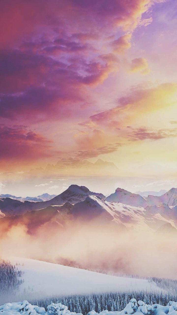 Clouds, Colours, Iphone - Light Sunset Color Palette - HD Wallpaper