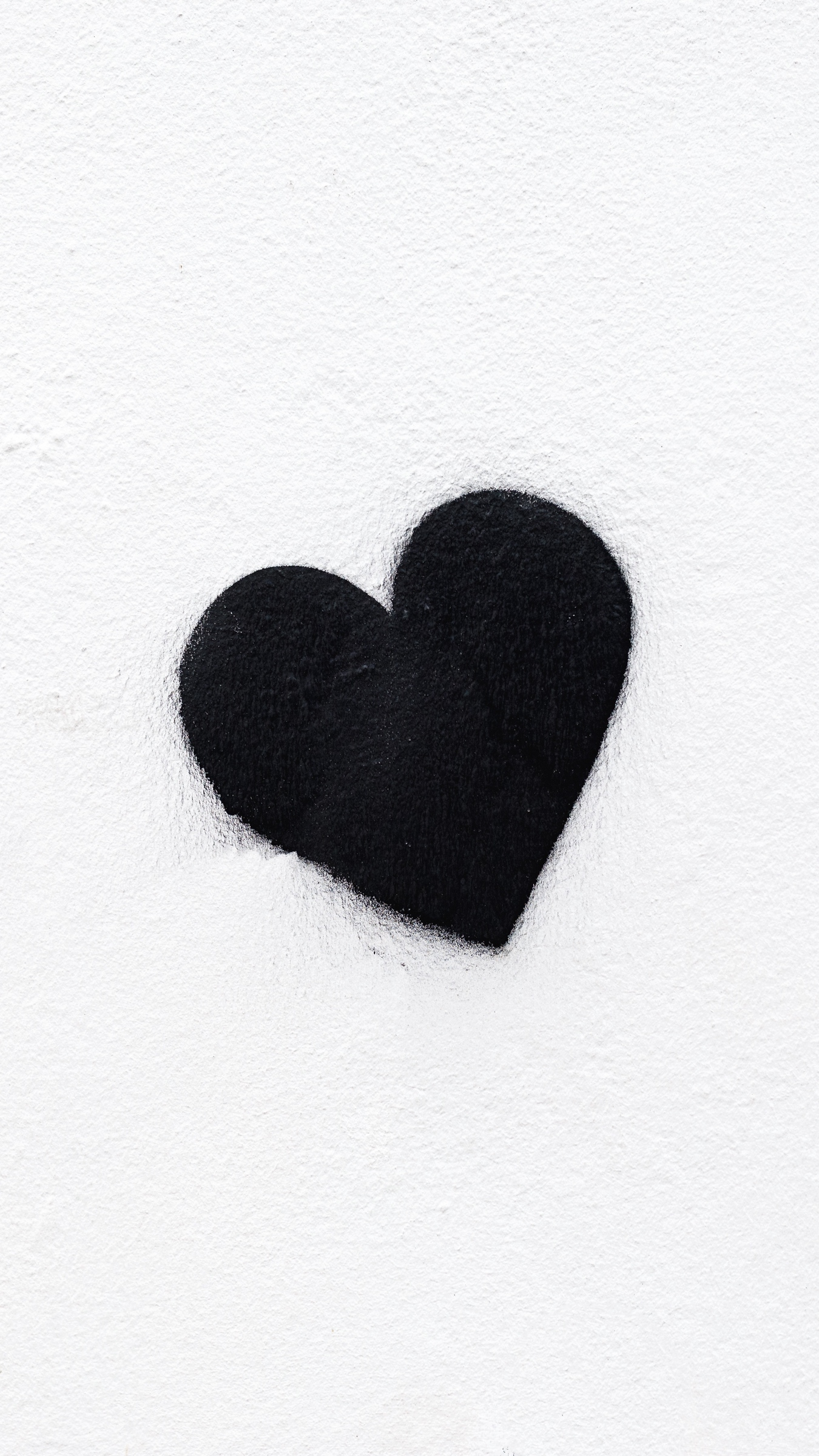 128 1286584 wallpaper heart bw love black white minimalism black