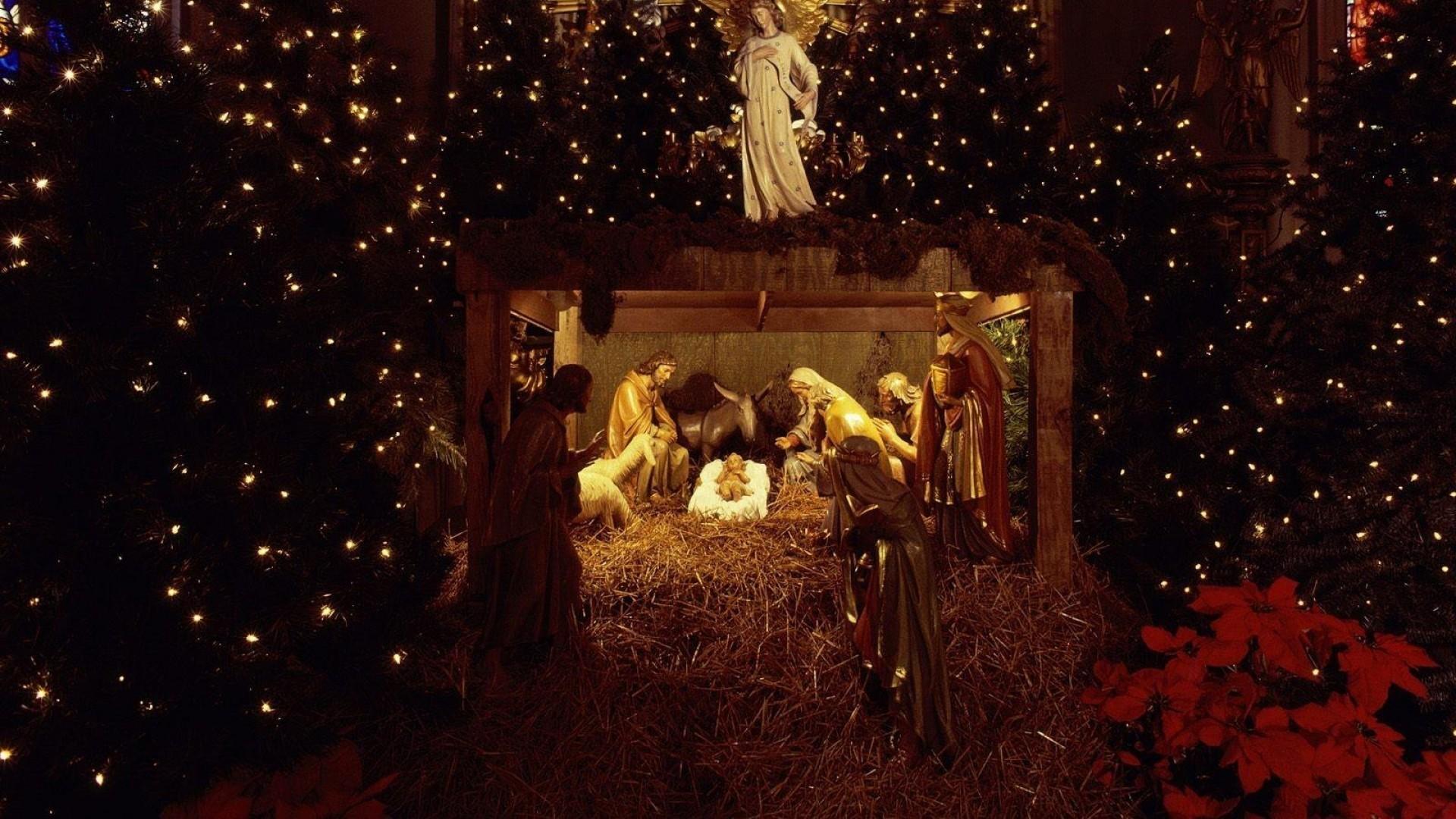 1920x1080, Religious Christmas Wallpaper - Religious Christmas Wallpaper Desktop - HD Wallpaper