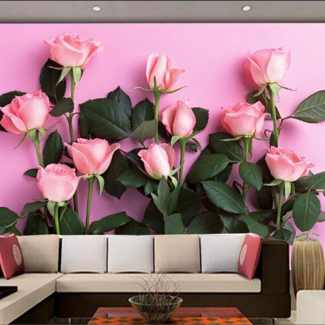ซื้อที่ไหน Beibehang 3d Wallpaper Modern Simple Tv - Hello September With Flowers - HD Wallpaper