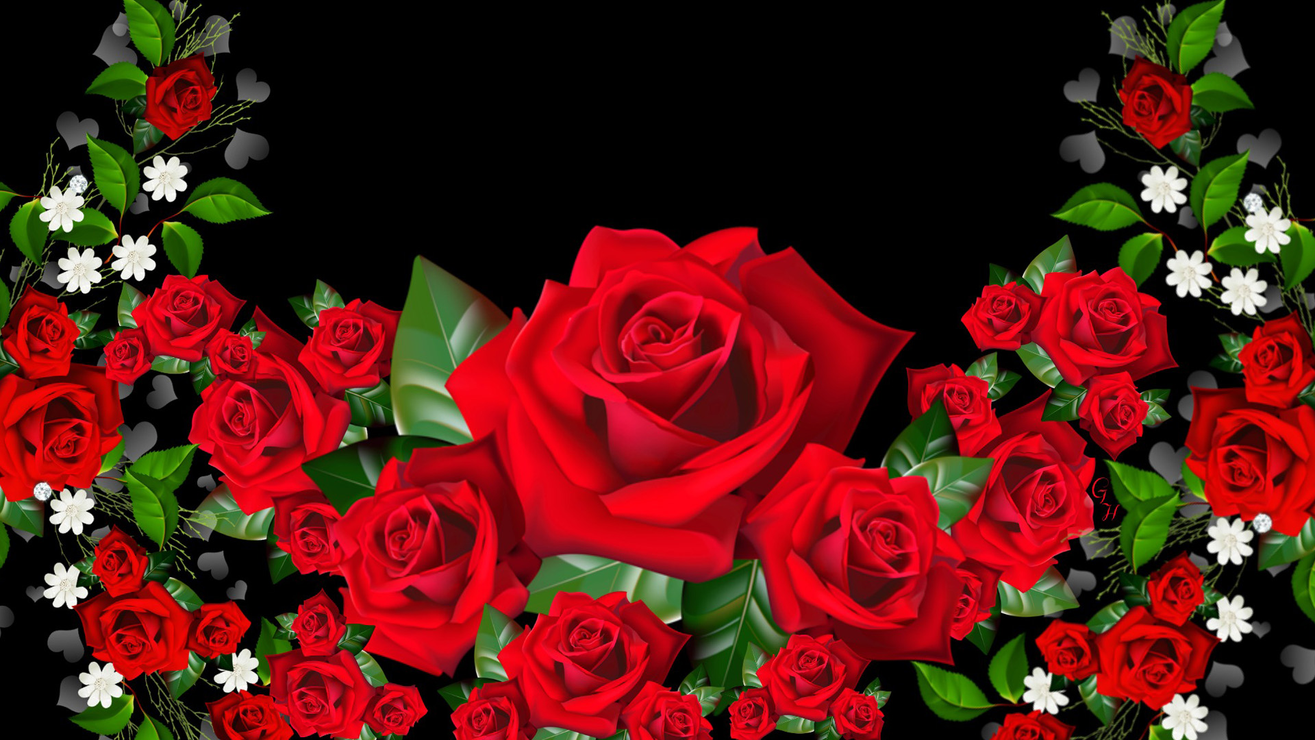 Wallpaper Rose Wallpapers For Free Download About Wallpapers  - Rose 3d Hd Wallpapers Flowers - HD Wallpaper