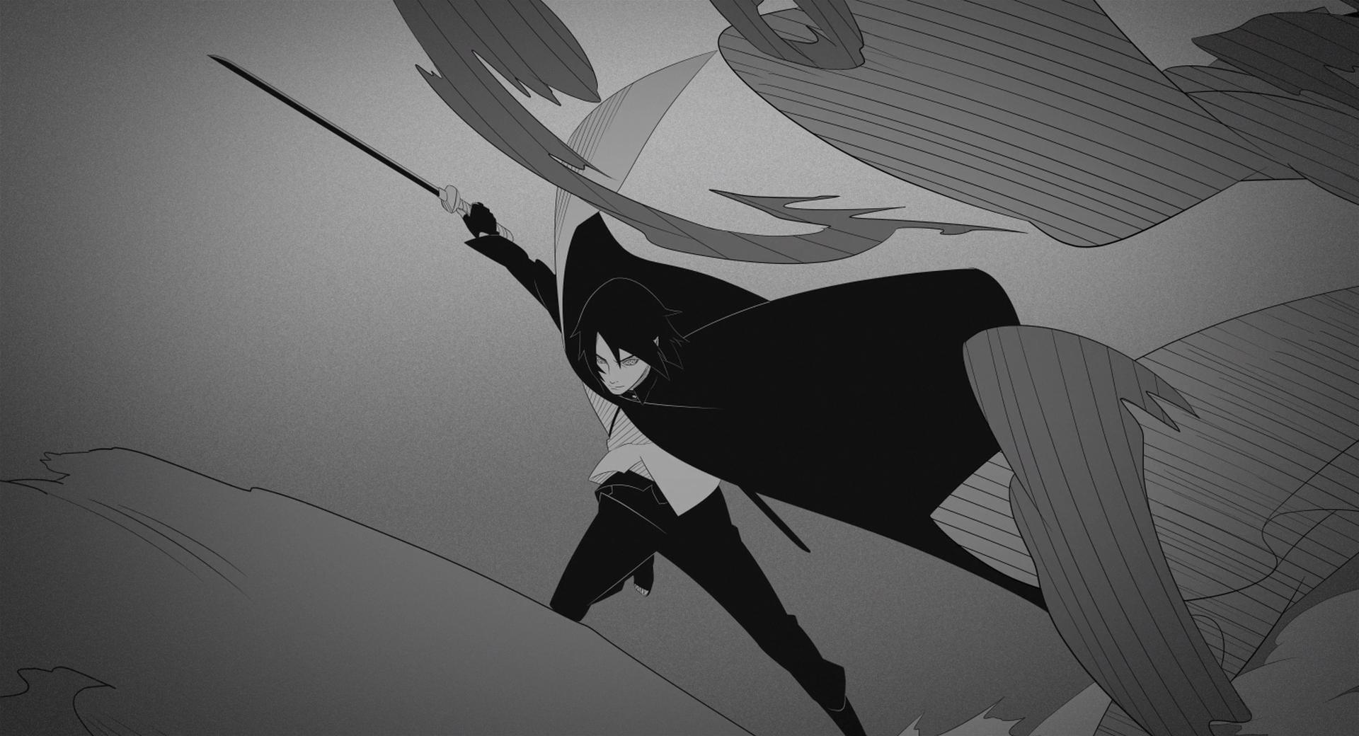 Boruto Movie Credit Wallpaper 17 - Sasuke Uchiha Wallpaper Hd Boruto - HD Wallpaper
