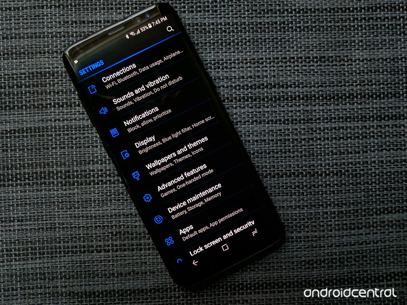 Galaxy S9 Dark Mode 800x600 Wallpaper Teahub Io