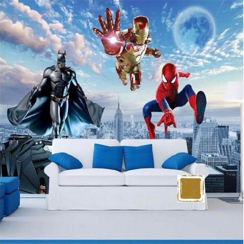 3d Wallpaper For Kids Bedroom Walls - HD Wallpaper