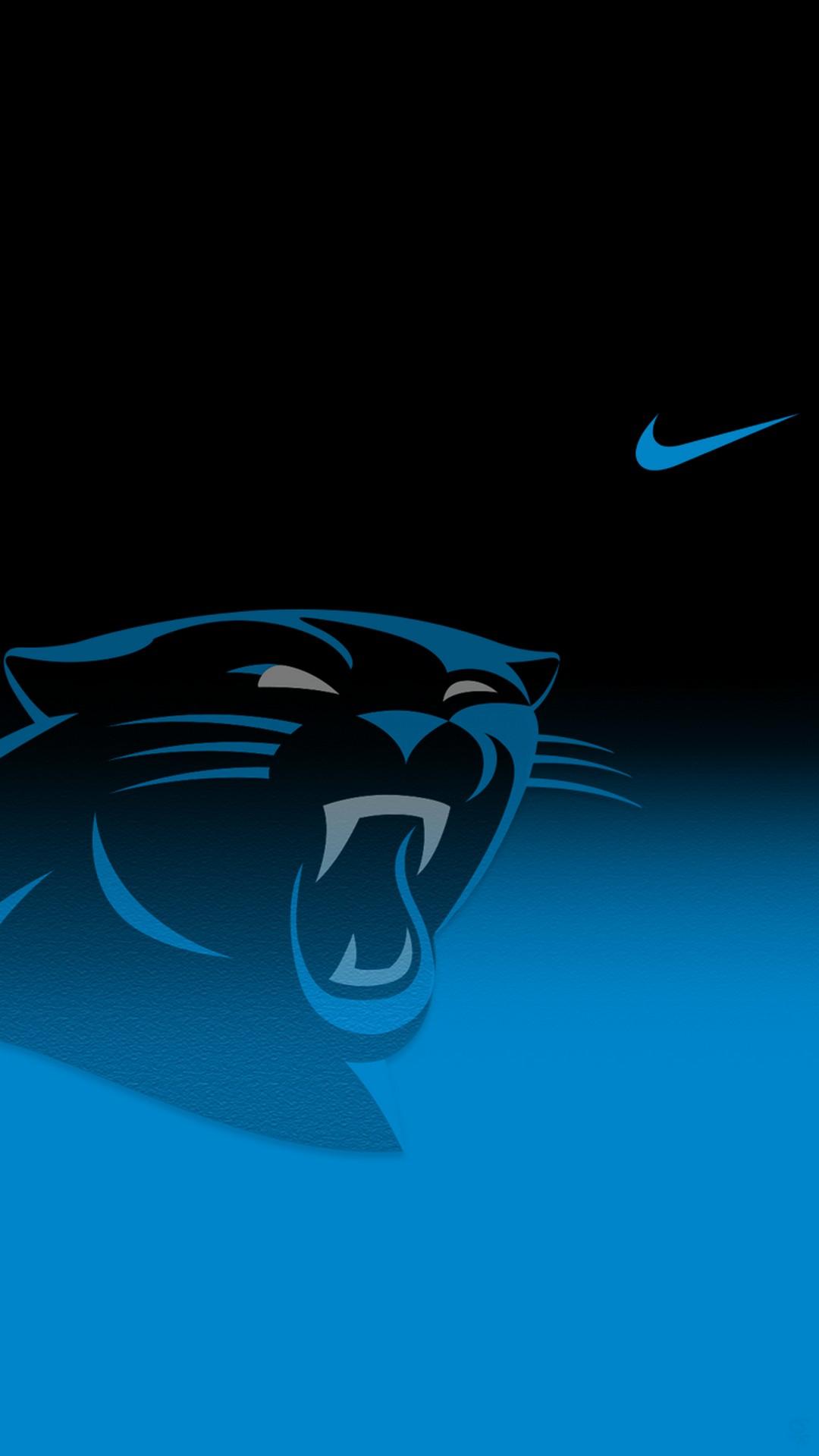 Carolina Panthers Iphone Wallpaper Home Screen With - Carolina Panthers - HD Wallpaper