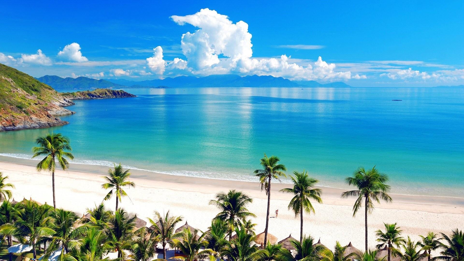 Wonderful, Tropical, Beach, High, Definition, Desktop, - Montego Bay Jamaica - HD Wallpaper