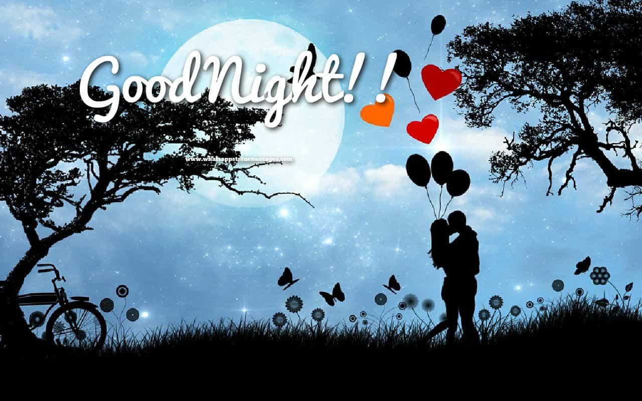 Good Night Love Images - Nature Good Night Imge - HD Wallpaper