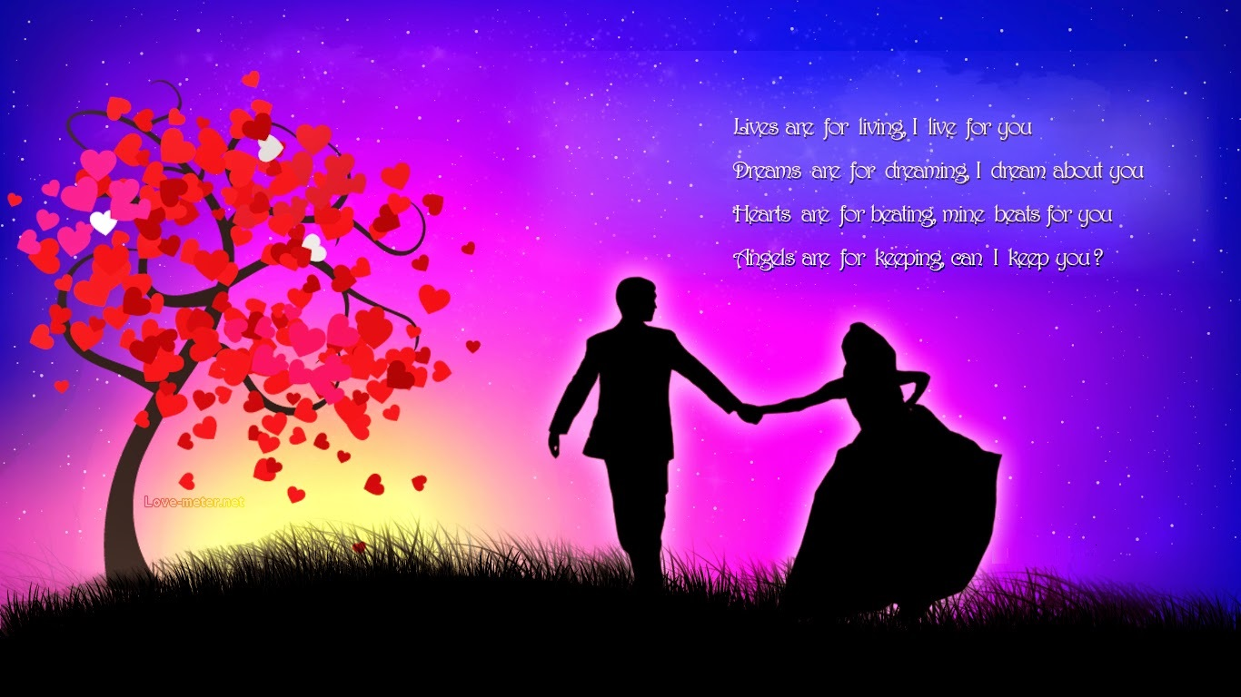 Lives Are For Living - Romantic Love Photos Download - HD Wallpaper
