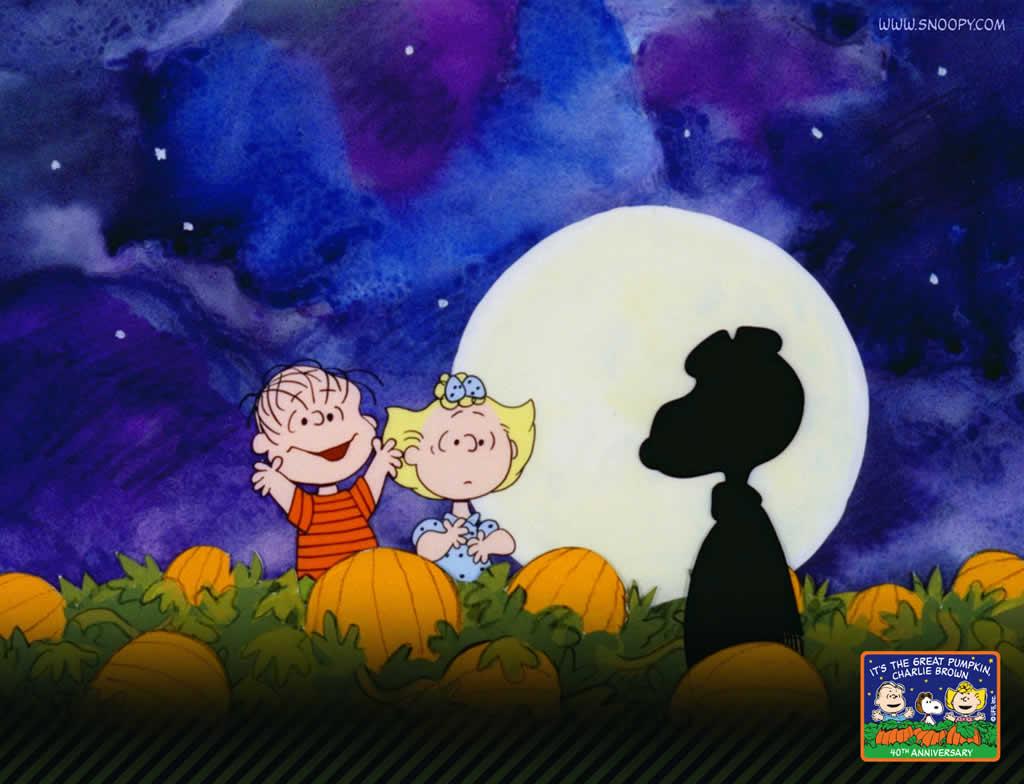 Charlie Brown Halloween Wallpaper Desktop - Great Pumpkin Charlie Brown - HD Wallpaper