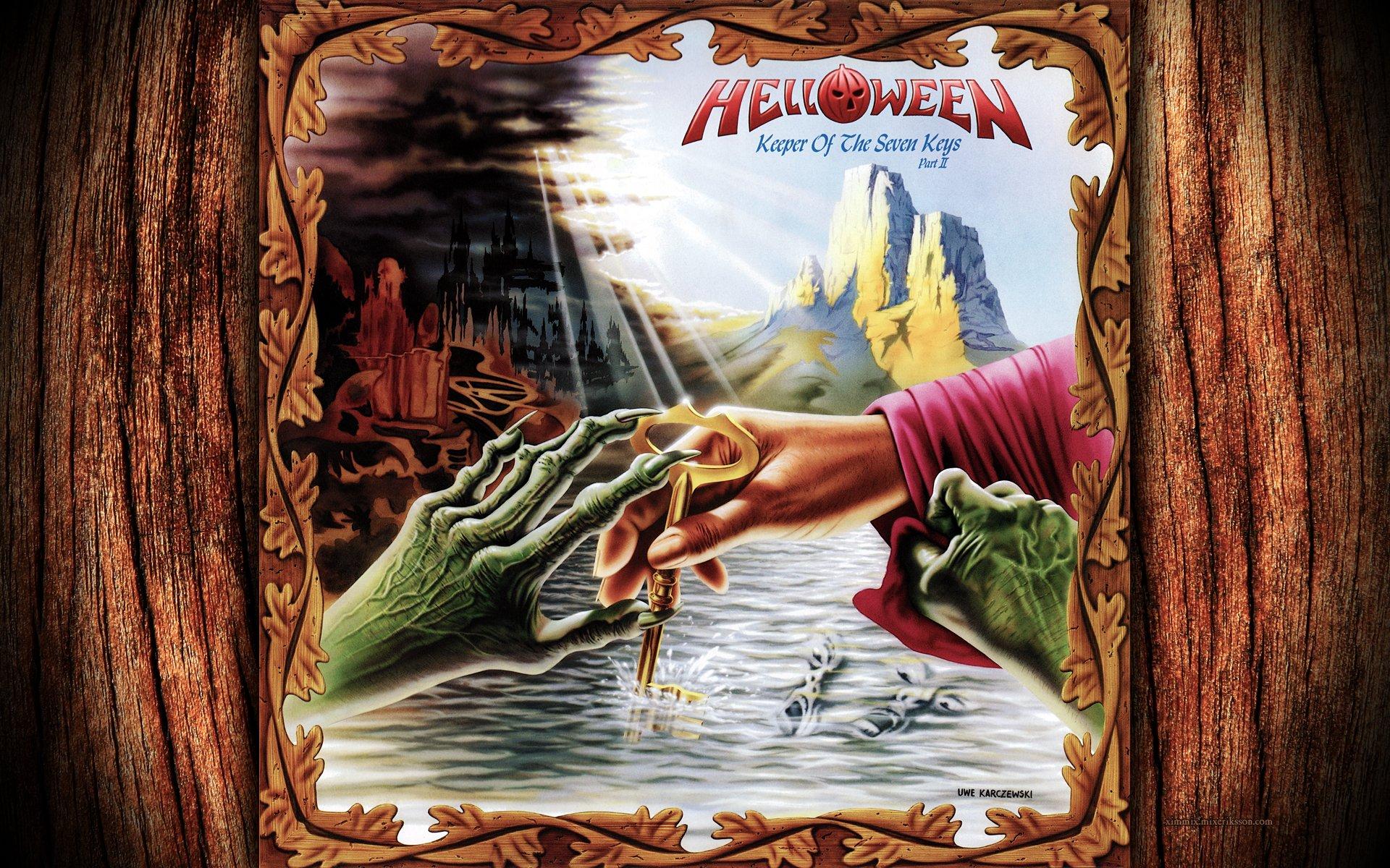 Helloween Keeper Of The Seven Keys Part 2 - HD Wallpaper