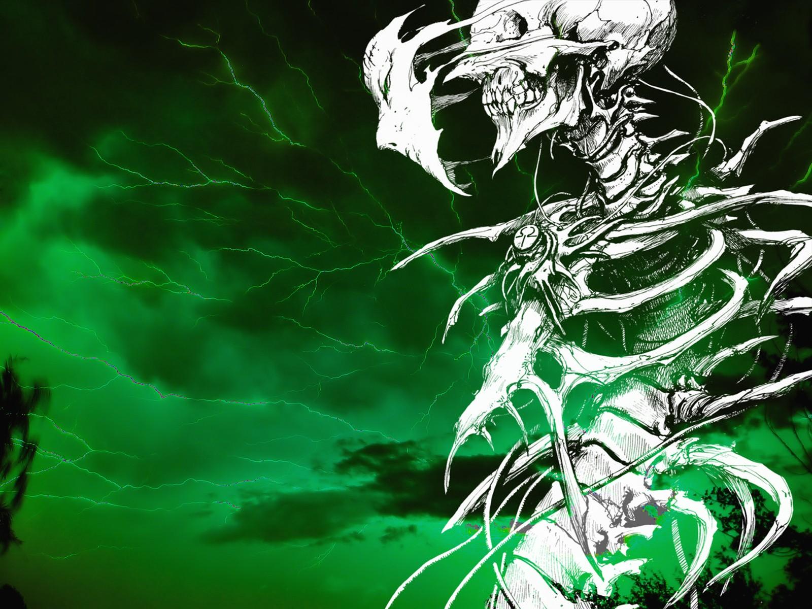 Peacetablet Backgrounds, Spooky,dark, Creepy, Skull, - Tsutomu Nihei Biomega - HD Wallpaper