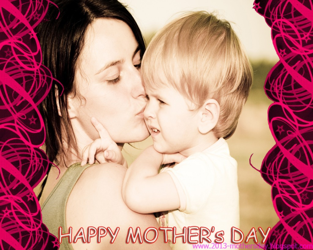 Baby With Mom Hd Wallpapers - Mother's Day Full Hd - HD Wallpaper