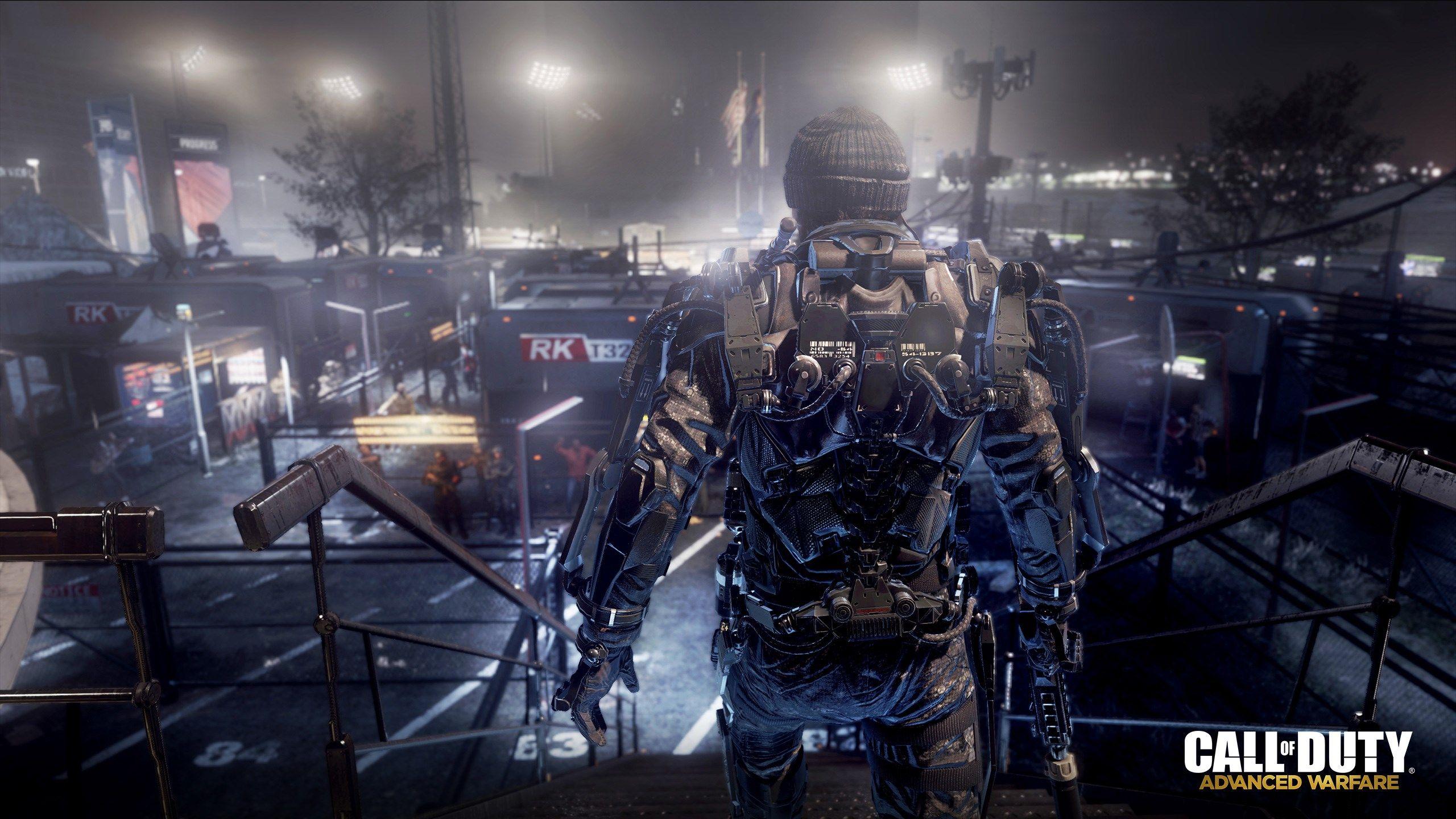 Call Of Duty Advanced Warfare Exoskeleton Zombie 2560x1440 Wallpaper Teahub Io