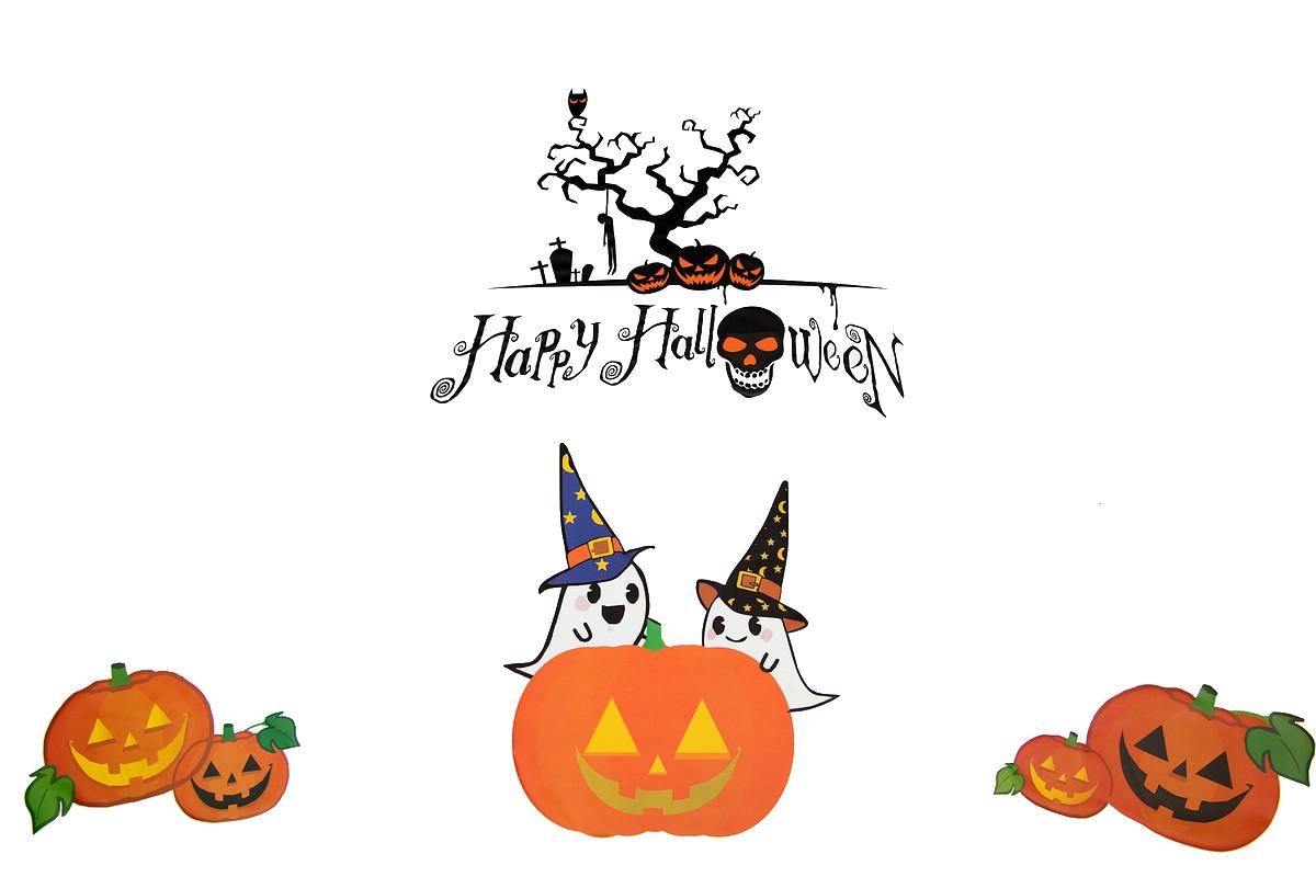 Halloween Theme Desktop Environment Wallpaper - Transparent Background Happy Halloween Theme - HD Wallpaper