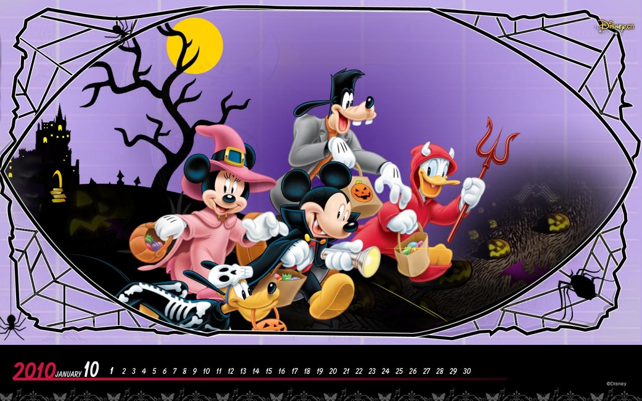 Disney Halloween Disney Halloween Wallpaper Hd 1280x800 Wallpaper Teahub Io