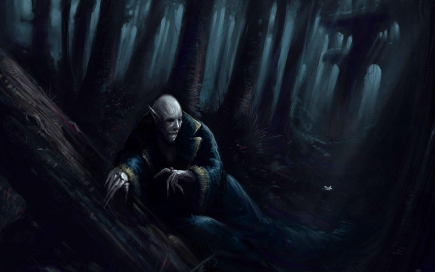 Original, Fantasy, Dark Wallpapers, Creepy, Horror, - Darkness - HD Wallpaper
