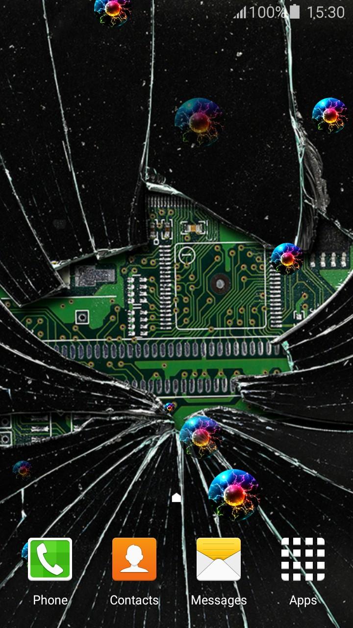 Cracked Screen Live Wallpapers Live Wallpaper Broken Screen 720x1280 Wallpaper Teahub Io