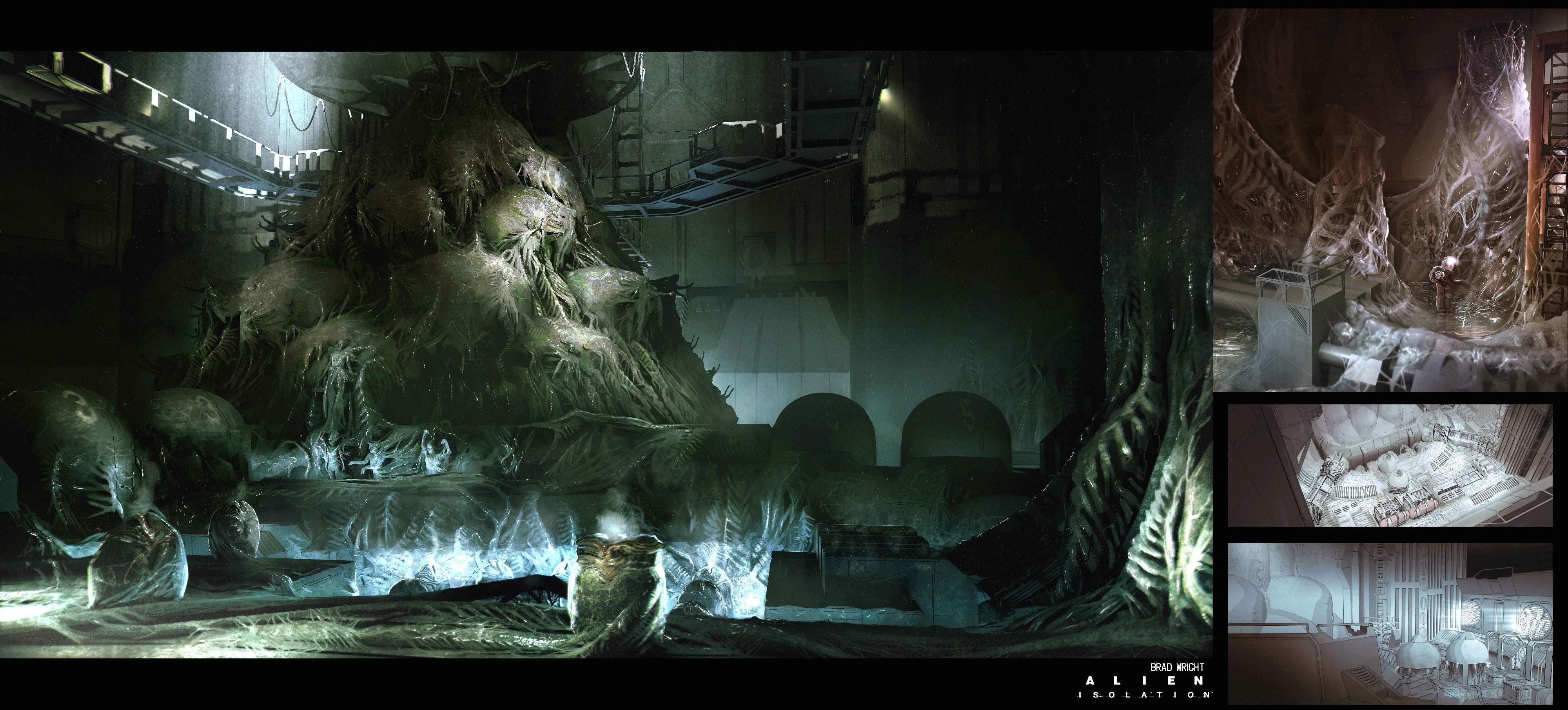 Dark, Hd Wallpapers, Abstract Hd Wallpaper, Survival, - Sci Fi Horror Background - HD Wallpaper