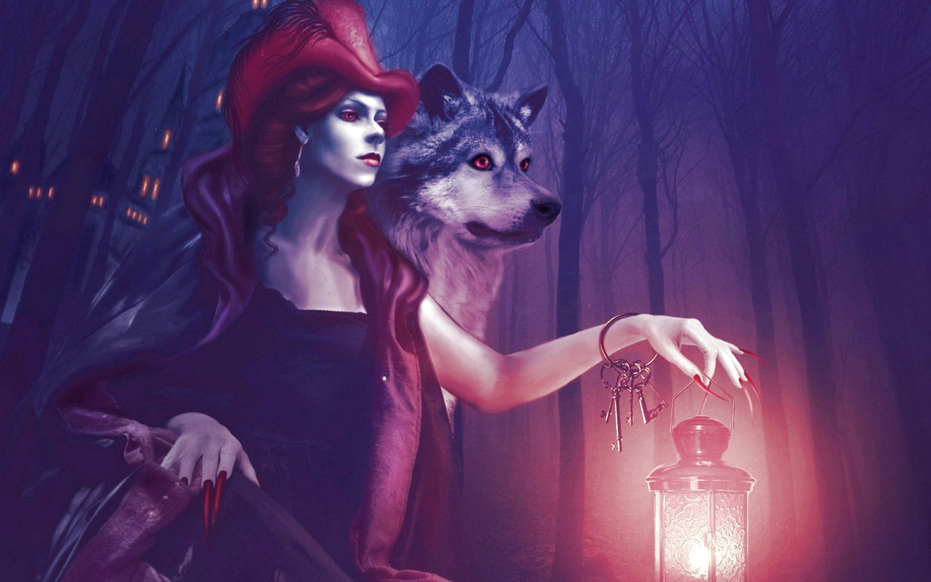 Art, Creepy, Creepy, Evil, Artwork, Original, Spooky, - Seppala Siberian Sleddog - HD Wallpaper