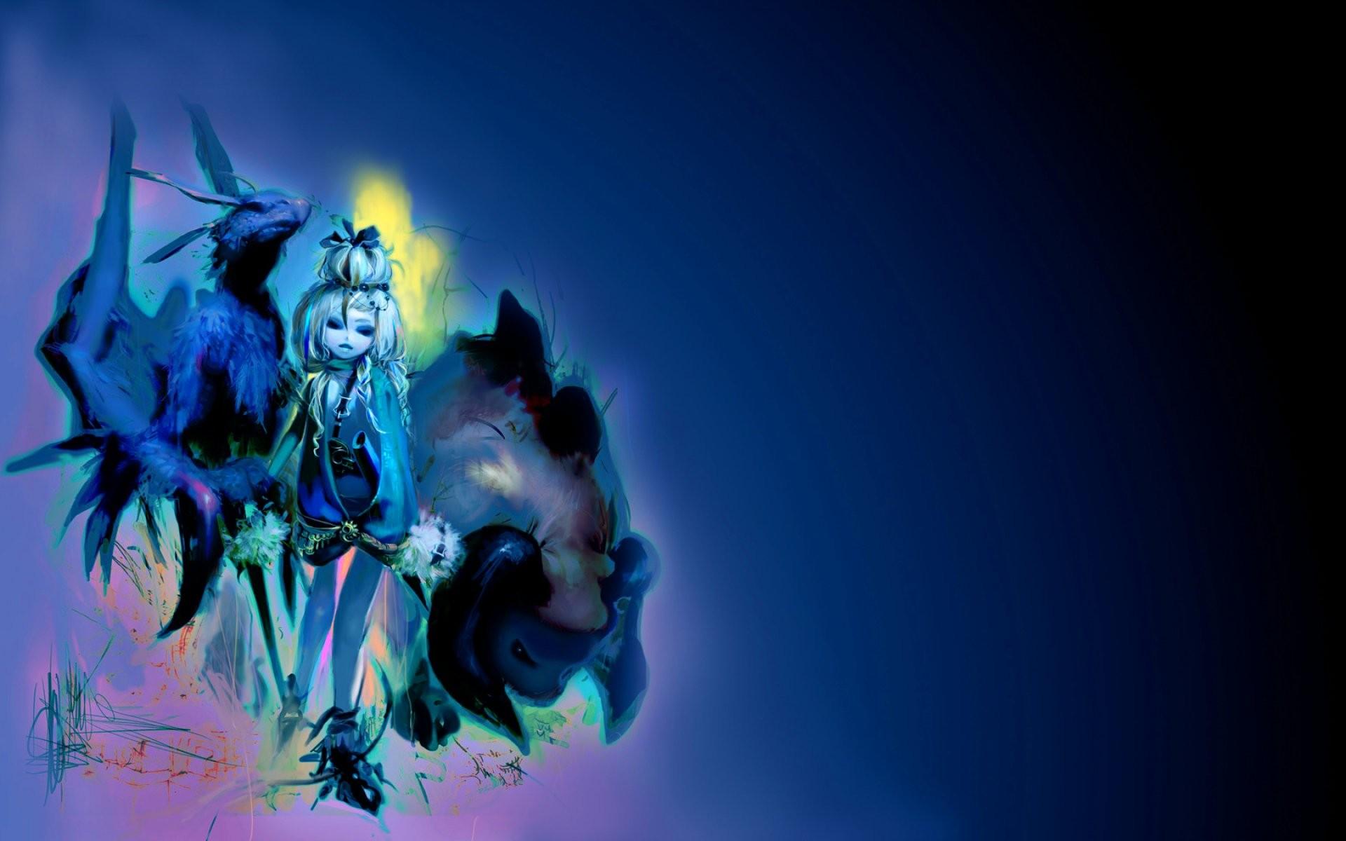 Scary,dark, Evil, Hd, Psychedelic, Artistic, Horror, - Illustration - HD Wallpaper