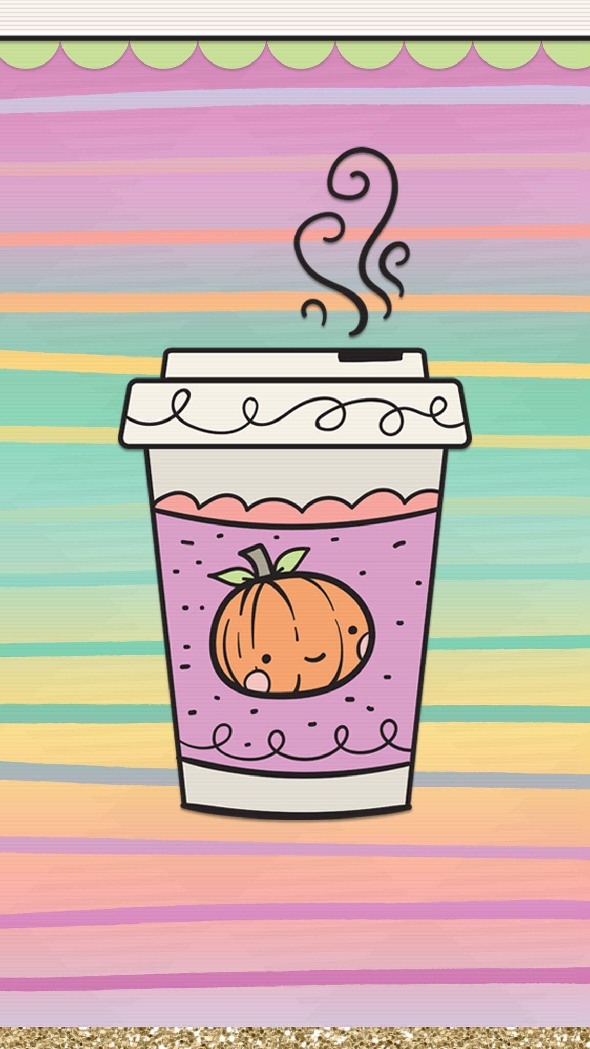 Kawaii Cute Halloween Background 1152x2048 Wallpaper Teahub Io