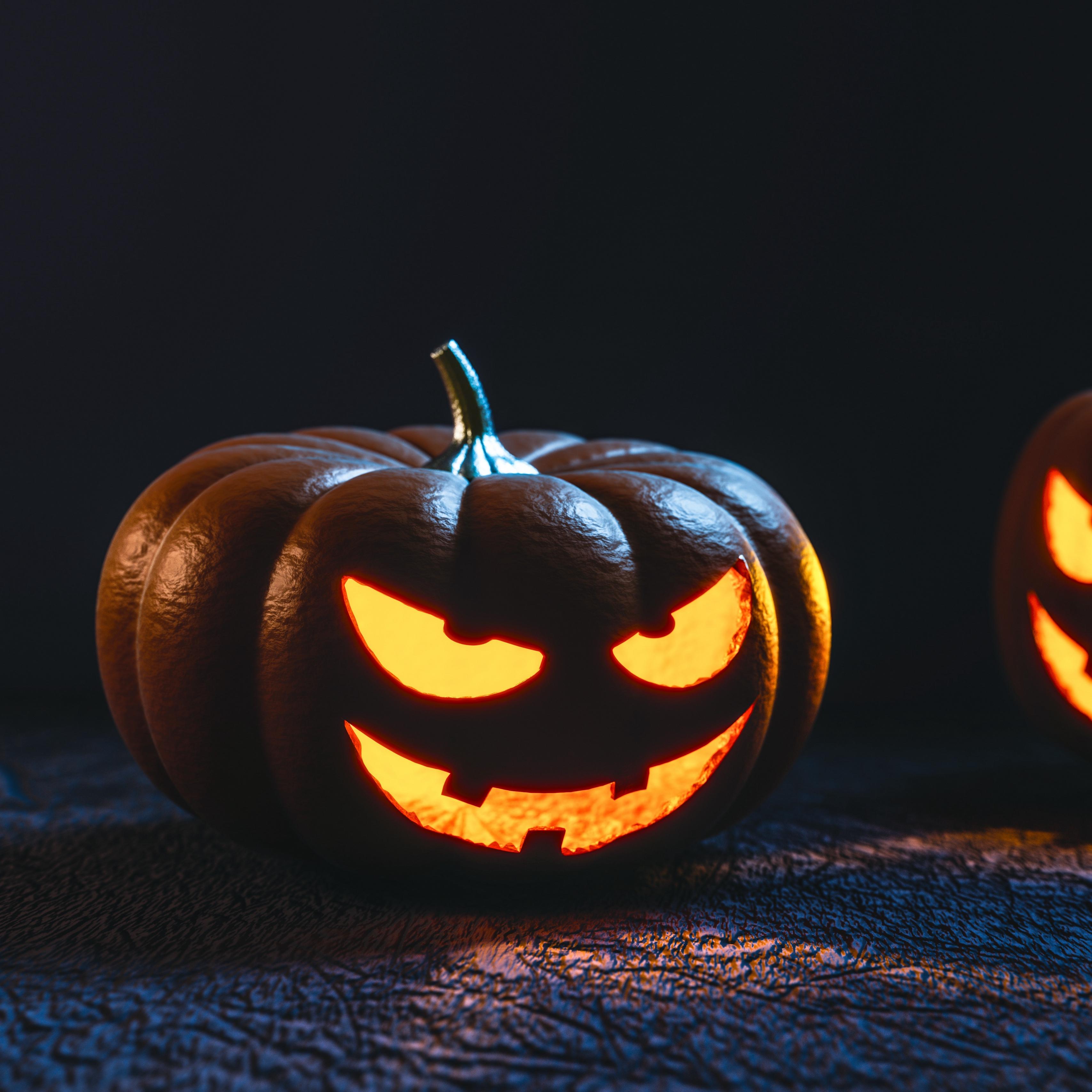 Wallpaper Pumpkin, Halloween, Mask - Comedy Halloween ...