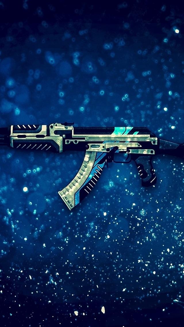 Iphone Wallpaper Ak-47 Assault Rifle, Cs - Counter Strike Global Offensive Windows - HD Wallpaper