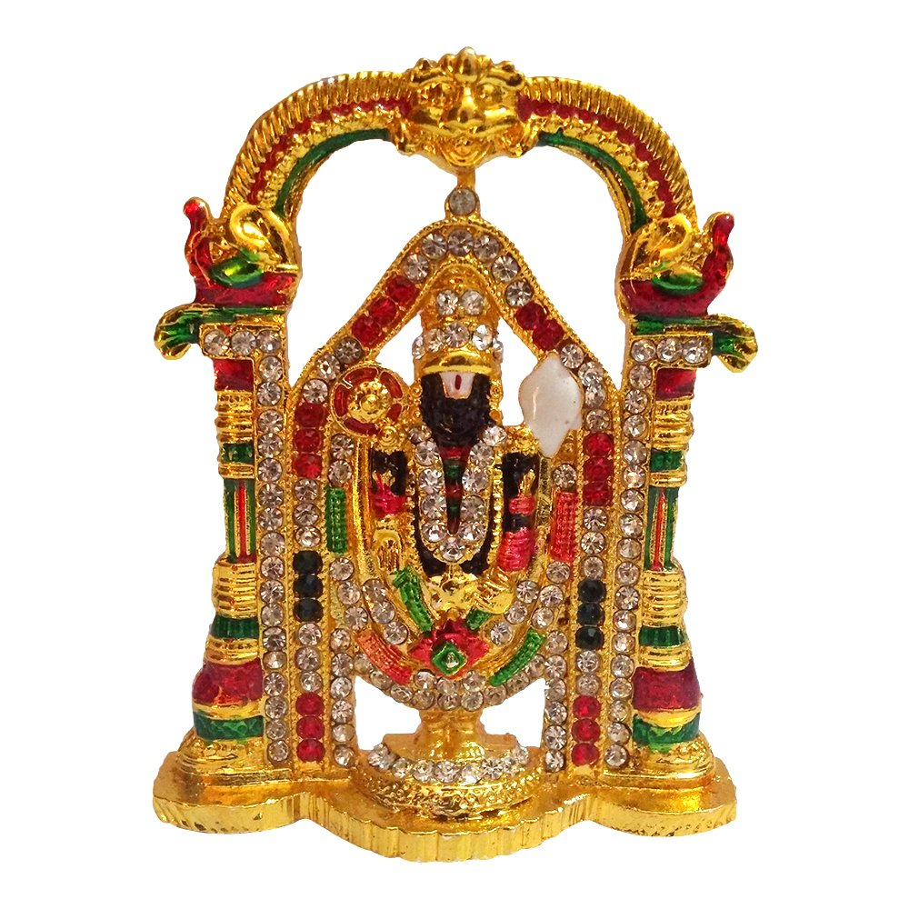 Gold Plated Religious God Tirupati Balaji Lord Venkateswara Tirupati God 1000x1000 Wallpaper Teahub Io