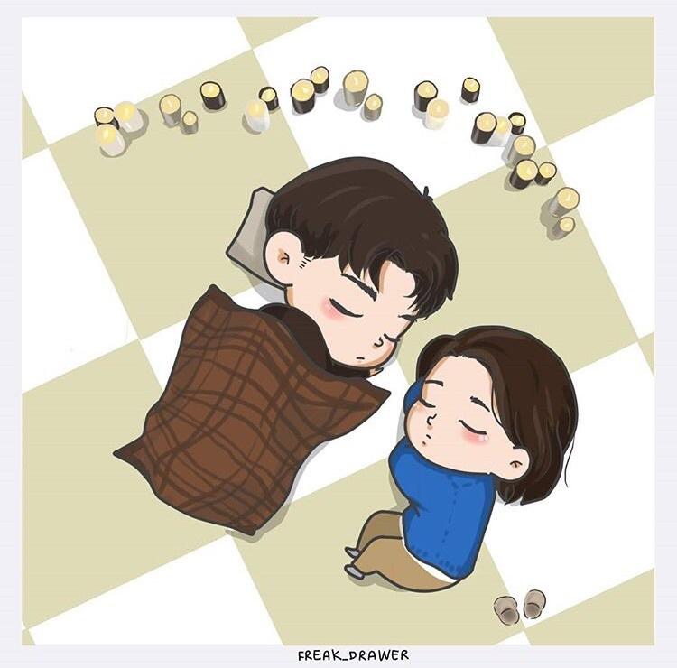 Goblin, Gong Yoo, Kdrama - Goblin Korean Drama Cartoon - HD Wallpaper