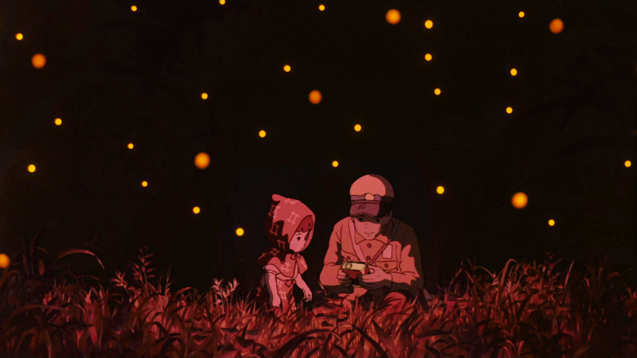 Grave Of The Fireflies Grave Of Fireflies Gif 1280x720 Wallpaper Teahub Io