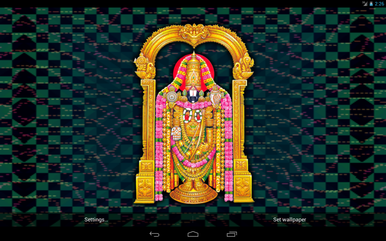 Balaji 3d Wallpaper - 1280x800 ...