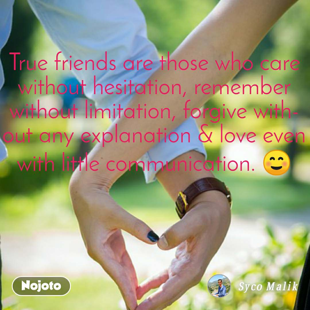 True Friends Are Those Who Care Without Hesitation, - True Love Real Love Couple - HD Wallpaper