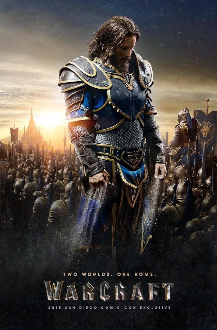 World Of Warcraft Movie Poster - HD Wallpaper