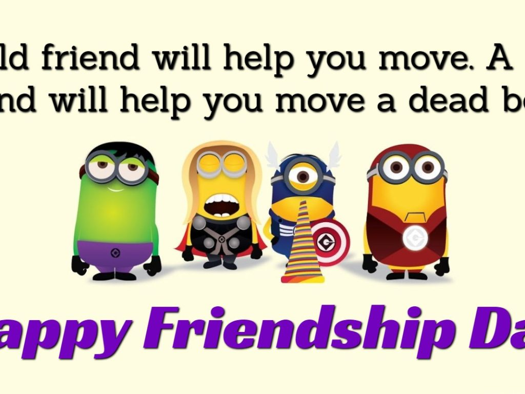 Happy Friendship Day 2019 Quotes - HD Wallpaper