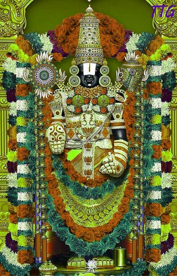 Tirupati Balaji Good Morning 618x960 Wallpaper Teahub Io