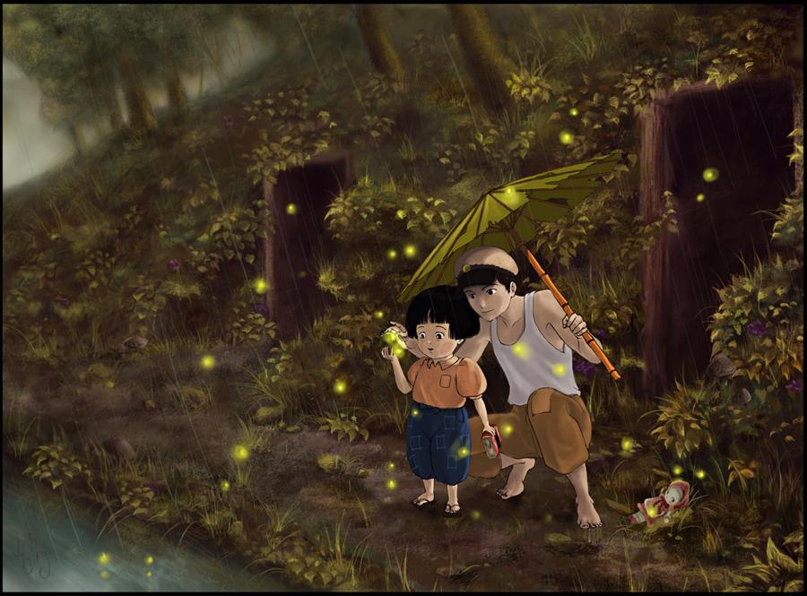Grave Of The Fireflies 900x665 Wallpaper Teahub Io